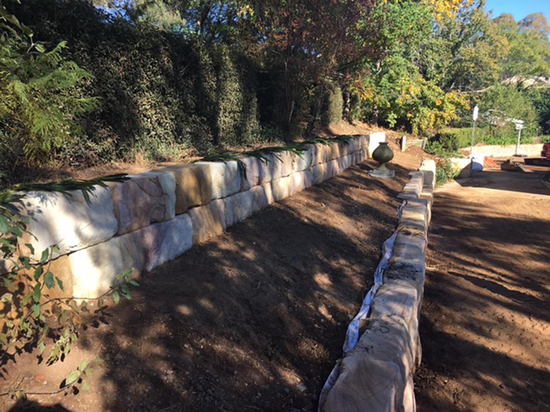 Swcontractors Sandstone Retaining Walls Macarthur